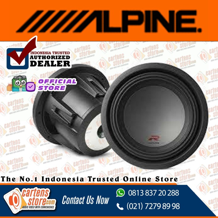 "Foto Produk Alpine Subwoofer 12"" RW12D2 by Cartens Audio dari Cartens Store"