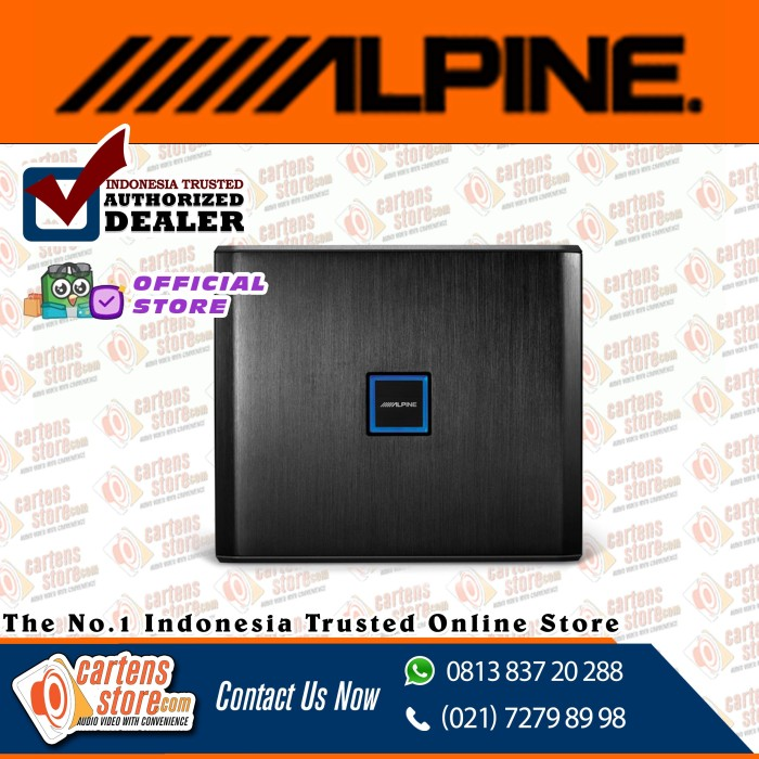 Foto Produk ALPINE PXE-X09 16 – CHANNEL SOUND PROCESSOR by Cartens Audio dari Cartens Store