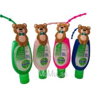 Foto Produk Gantungan Dettol Holder Teddy Bear Hand Sanitizer 50ml 50 ml souvenir - Merah dari mumulan