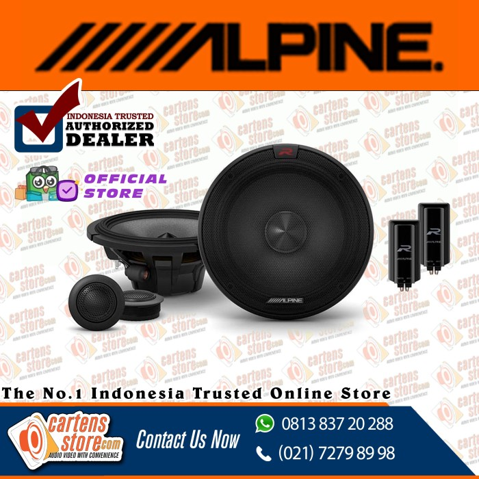 Foto Produk Alpine 2 Ways Speaker RS65C.2 by Cartens Audio dari Cartens Store