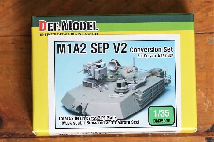 Foto Produk Model kit DEF Model 1/35 M1A2 SEP V2 conversion set dari rumahmokit