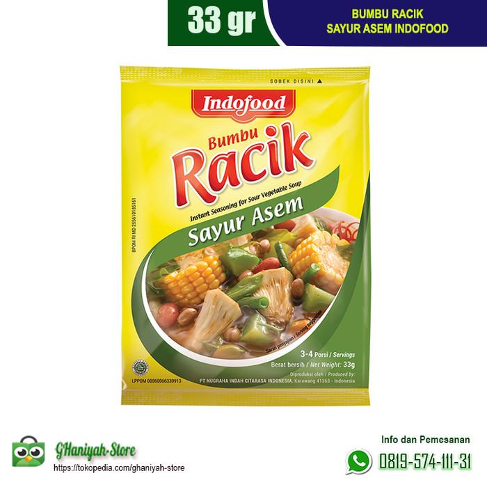 Foto Produk Bumbu Indofood Racik Sayur Asem 33g dari ghaniyah-store