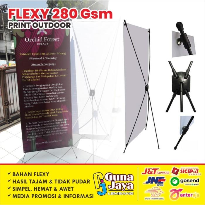 Jual X Banner Xbanner X Banner Promosi Frontlite 280gr Kab Bandung Barat Gunajaya Lembang Tokopedia