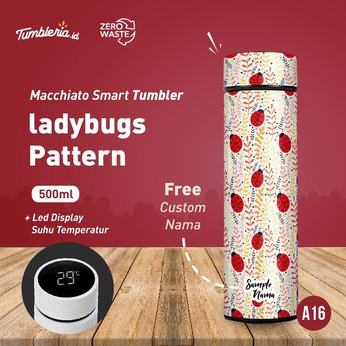 Foto Produk Macchiato Smart Tumbler I Ladybugs Pattern dari Bogorprint Express