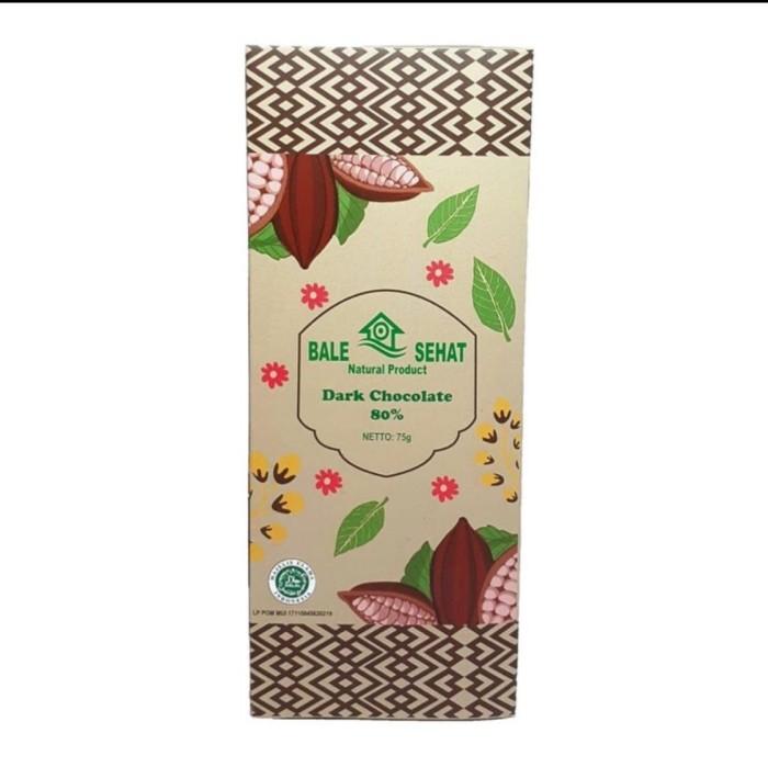 Foto Produk Dark chocolate 80% VEGAN Bale Sehat 75g dari Futive