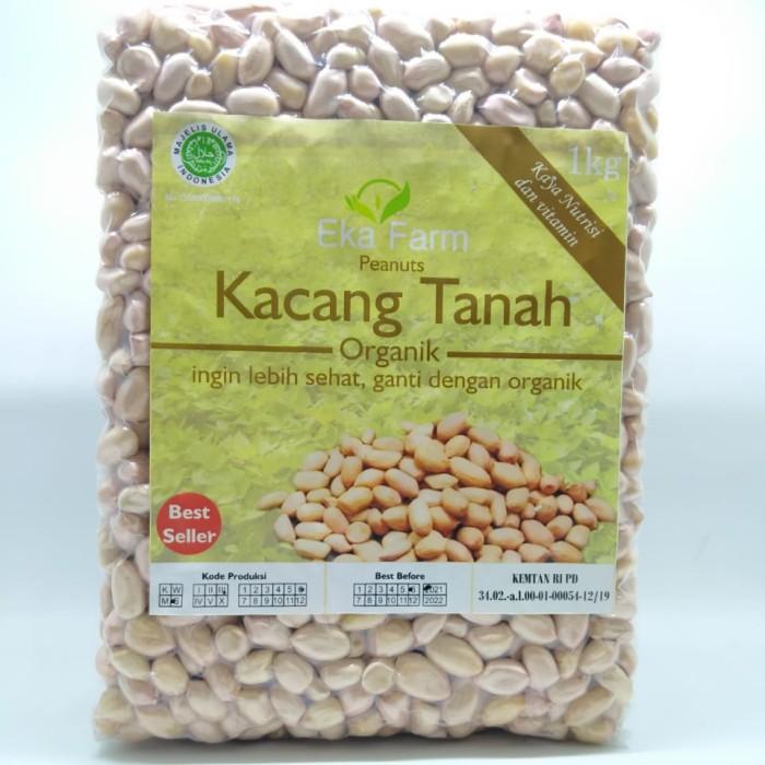 Foto Produk Kacang Tanah Organik Eka Farm 1kg dari Kantin Organik