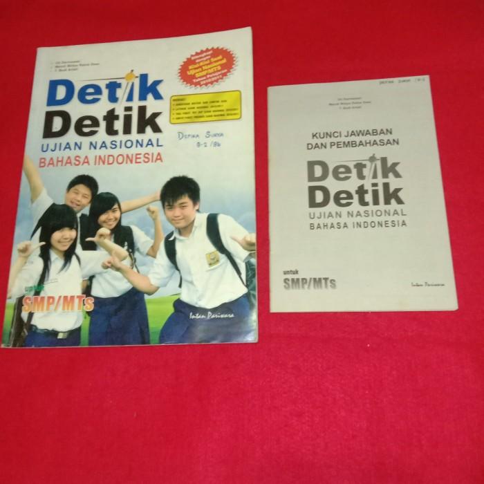 Jual Buku Detik Detik Ujian Nasional Smp Mts 2010 2011 Jakarta Barat Budiawan Shoop Offical Tokopedia