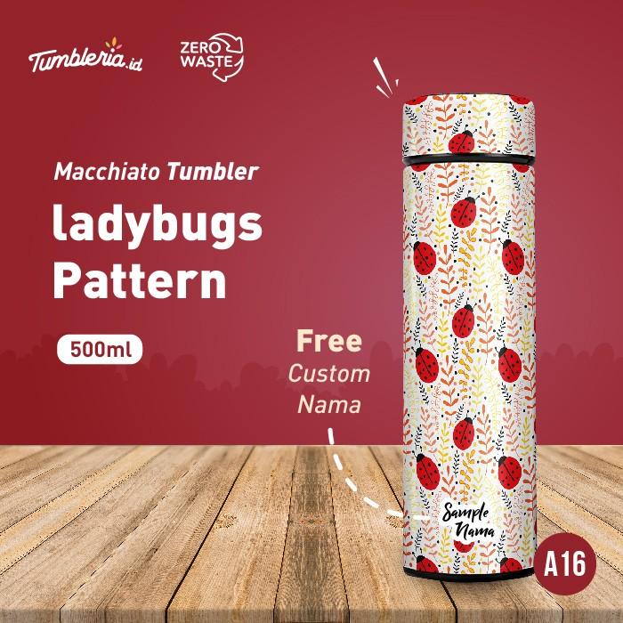 Foto Produk Macchiato Tumbler I Ladybugs Pattern dari Bogorprint Express