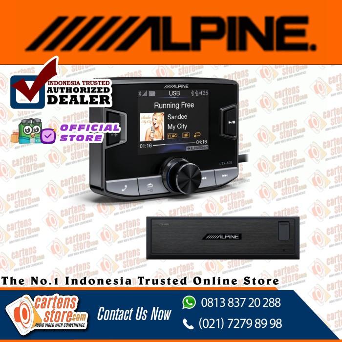 Foto Produk ALPINE UTX-A09 ADD IN HI-RES AUDIO PLAYER by Cartens Audio dari Cartens Store