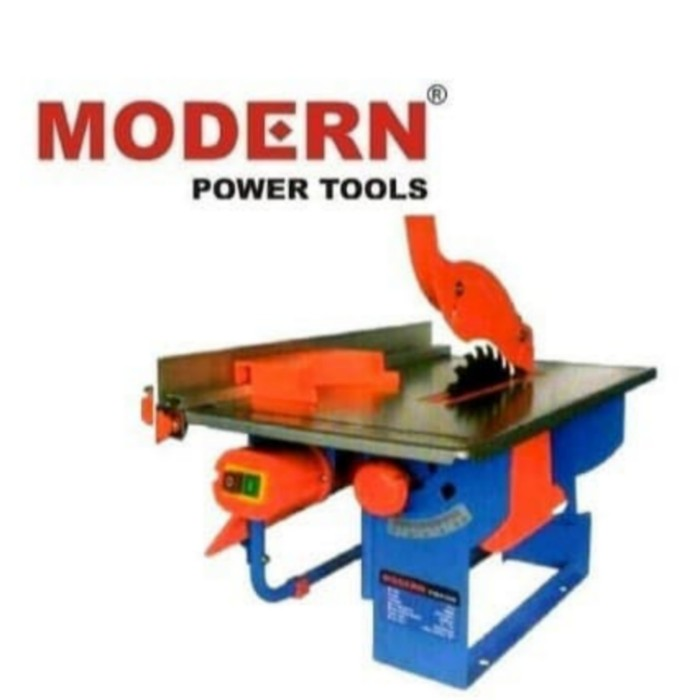 Foto Produk MODERN TS8 Table Saw 8 Inch Meja Gergaji Potong Kayu Mesin MEJA dari JABAR TEKNIK