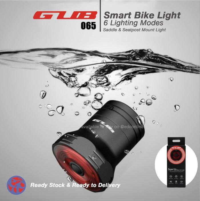 Foto Produk Lampu GUB 065 original smart brake tailght dual bracket dari EDC Online
