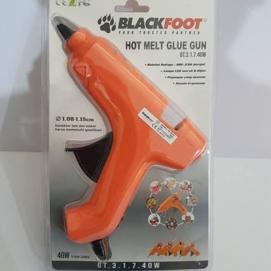 Foto Produk Blackfoot Alat Lem Tembak Glue Gun 40 Watt MODEL TEKIRO PROMO dari JABAR TEKNIK