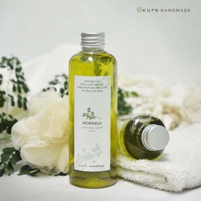 Foto Produk KURE Moringa Liquid Soap (Sabun Cair Kelor) dari KURE HANDMADE