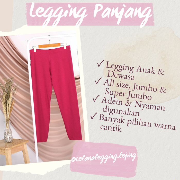 Jual Celana Legging Wanita Legging Panjang Legging Remaja Kab Bogor Baju Manset Atasan Tokopedia