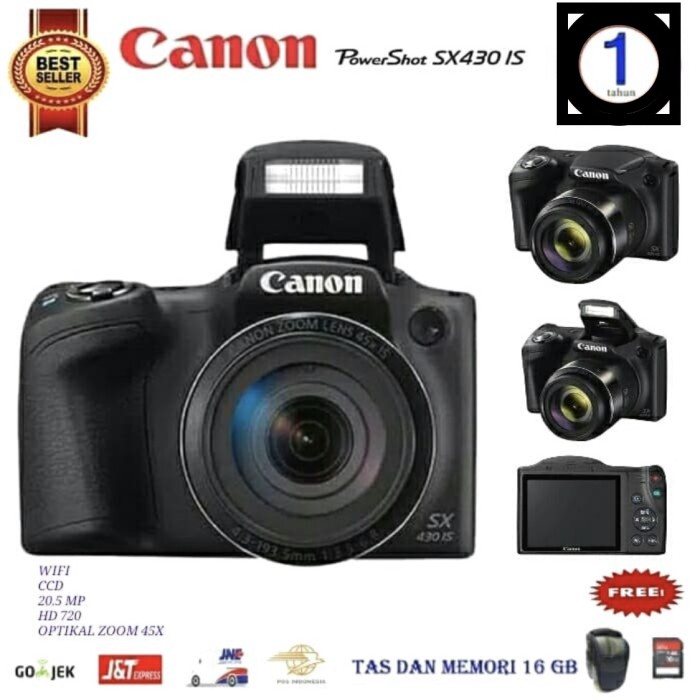 Foto Produk canon powershoot sx430 dari lensdigital