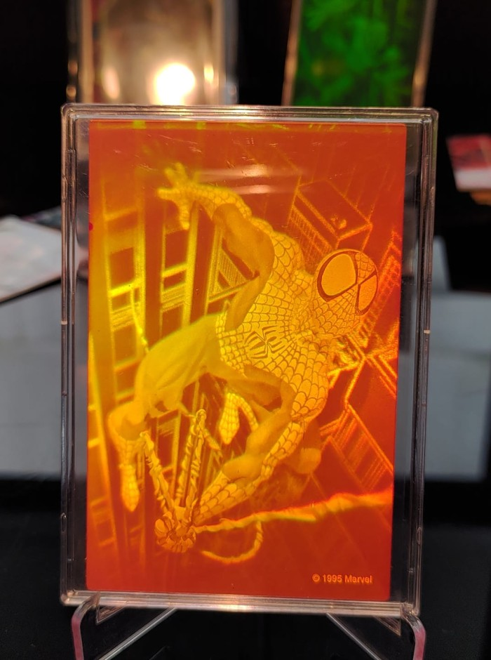 Foto Produk Marvel 3D Hologram Spiderman Amazing Spider-man trading card dari Charu Toys