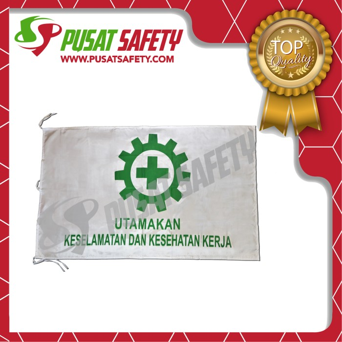 Foto Produk Bendera K3 / Safety First dari Pusat Safety Online