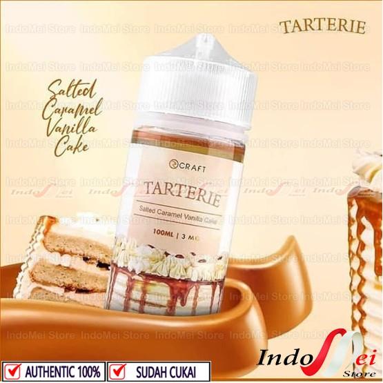 Foto Produk TARTERIE Salted Caramel Vanilla Cake 100ML - 3MG by Rcraft Indo dari Indomei Store