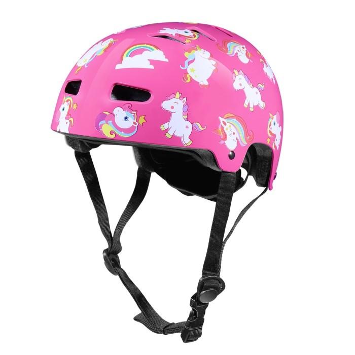 Foto Produk Helm anak Helm sepeda anak perempuan pink brompton fnhon pikes ecosmo dari The Pain Hunters