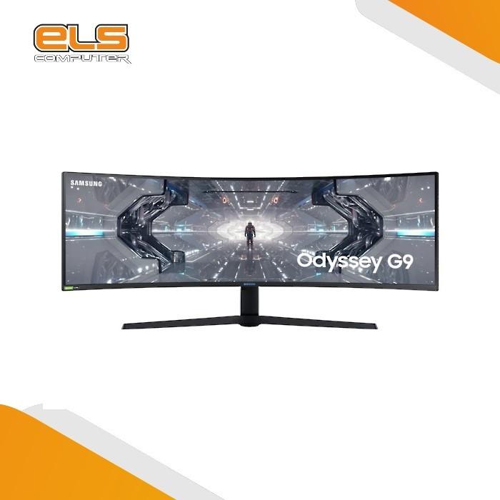 Foto Produk Monitor Samsung Odyssey G9 LED 49 - LC49G95T [Curve-DQHD-HDR-G Sync] dari ELS Computer
