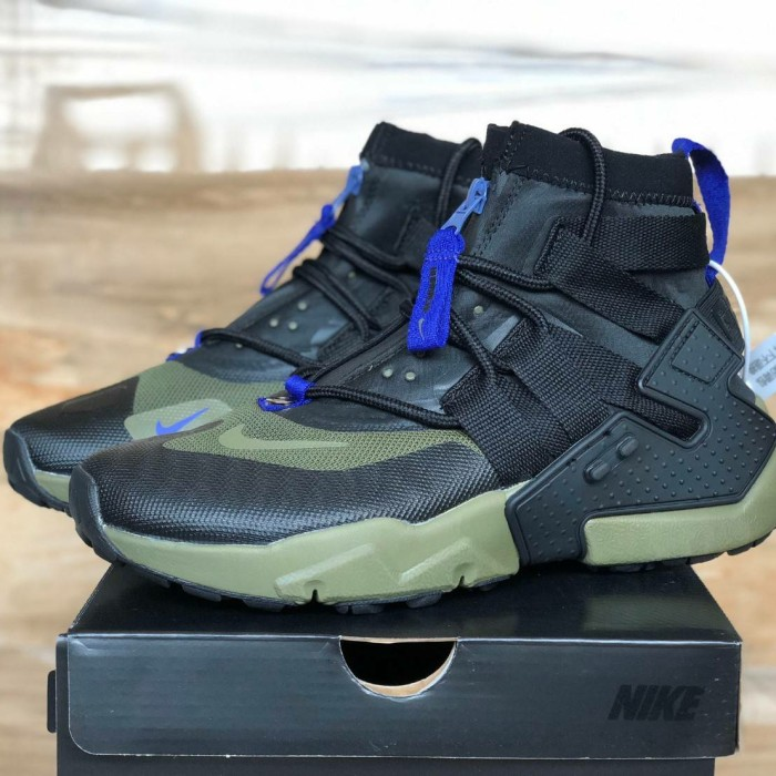 "Jual Nike Air Huarache Gripp "" Olive Green Black Prmium High Quality - Jakarta Selatan - zildansneakers   Tokopedia"