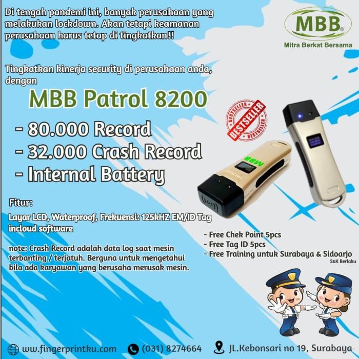 Jual Original New Patrol Guard Alat Absen Satpam Kontrol Check Point Time Kota Surabaya Fingerprint Murah Tokopedia
