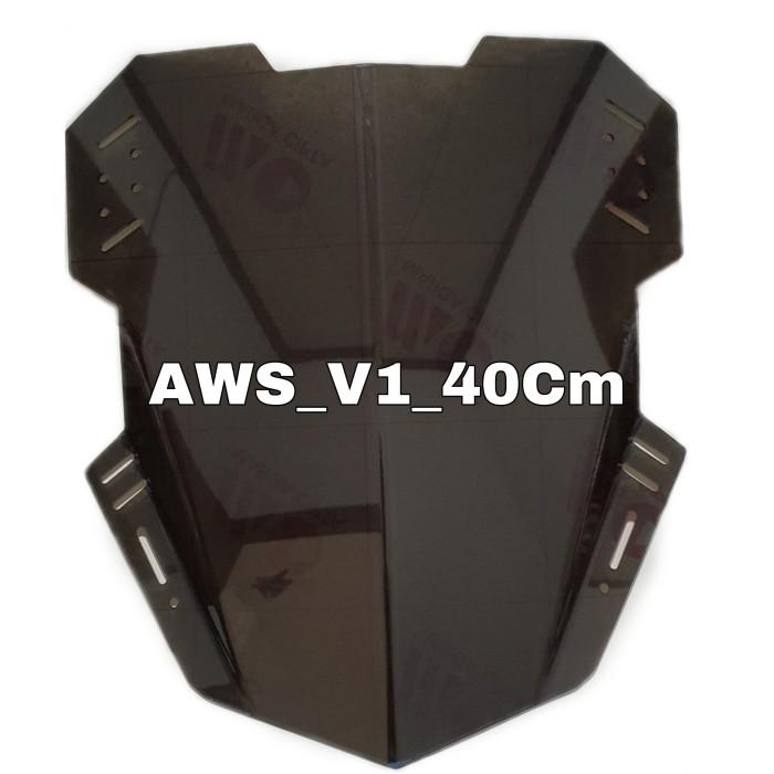 Foto Produk Winshielad Visor Chustom 40cm Universall - Smoke, 40cm dari Aribracket