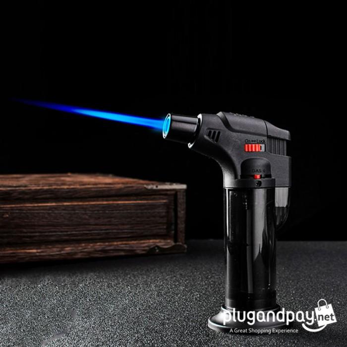 Foto Produk Korek Api Gas Butane Torch Jet Windproof Flame Gun dari plugandpay
