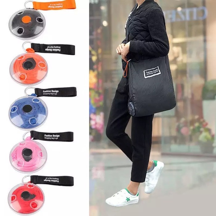 Foto Produk Tas Belanja Roll Up BagTas Belanja Lipat Shopping Bag Roll dari grosirltc