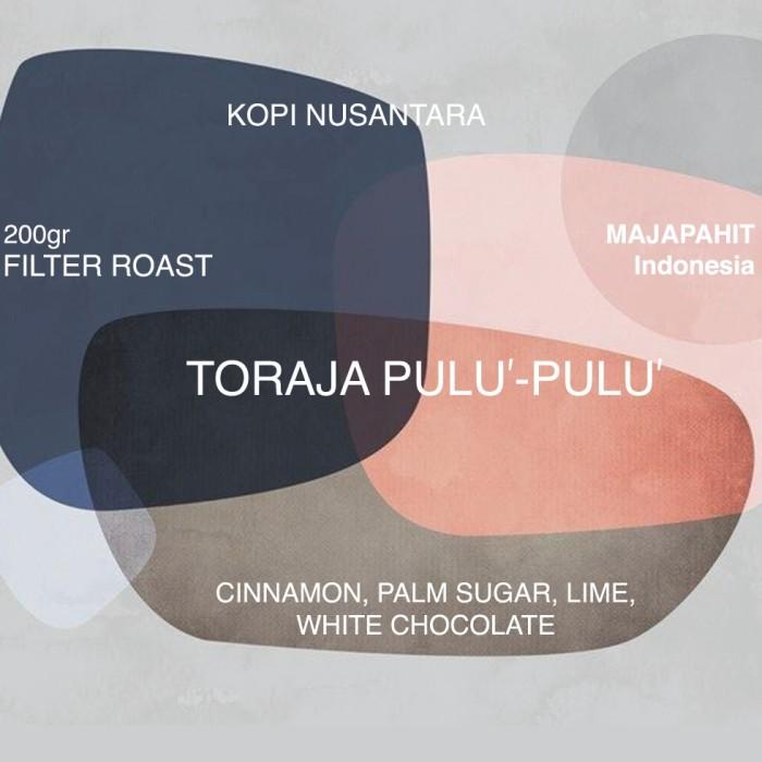 Foto Produk biji kopi Toraja Pulu'-Pulu' pulu-pulu 200gr medium roast dari koffiesome