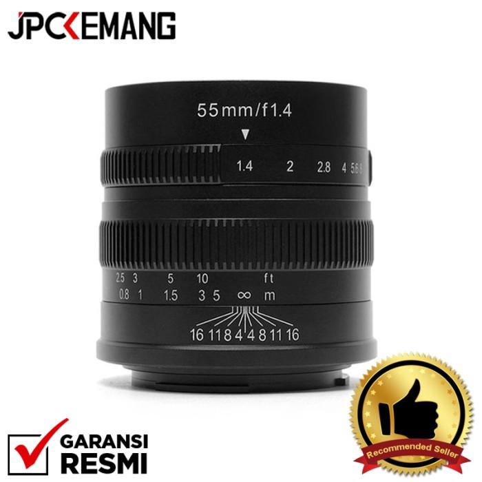 Foto Produk 7artisans for Sony 55mm f1.4 Lensa 7artisan Sony E Mount GARANSI RESMI dari JPCKemang