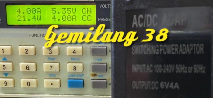 Foto Produk AC DC Charger 6V 4A Switching Adaptor Power Supply 6 V 4 A 24 Watt dari Gemilang 38