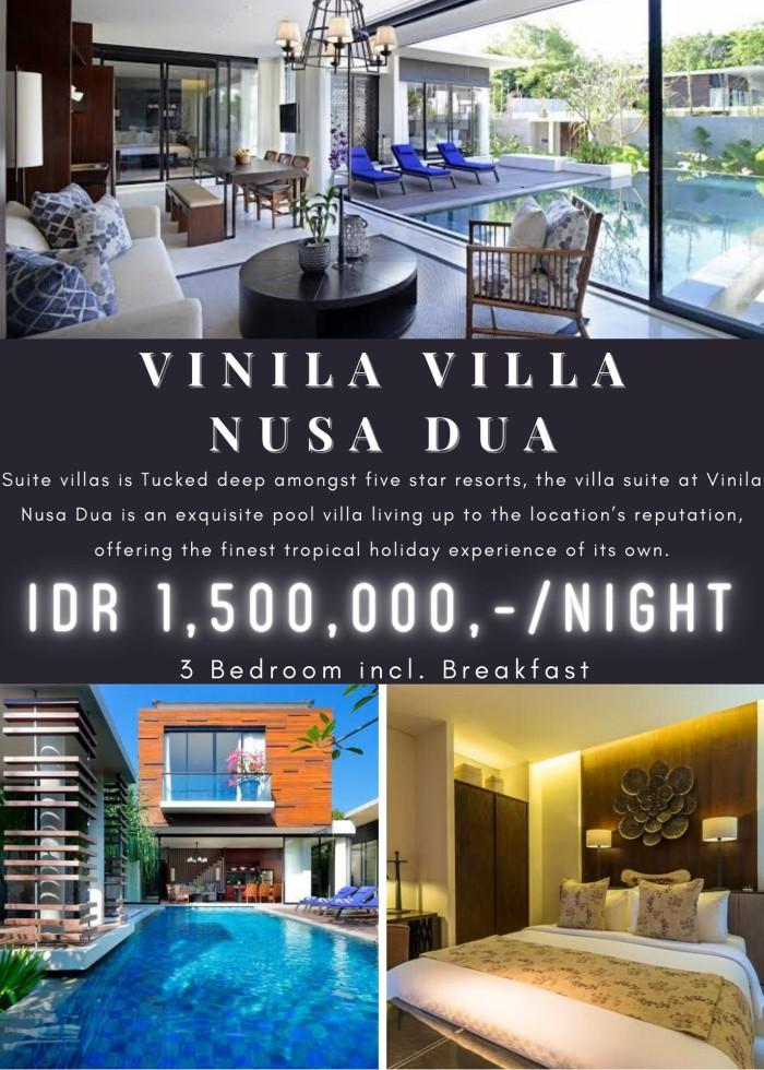 Jual Voucher Menginap Villa Mewah Bali Vinila Nusa Dua Hotel Murah Jakarta Utara D Mandja Tokopedia