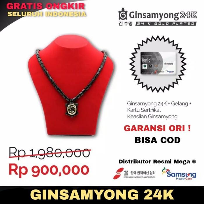 Foto Produk BIG PROMO !! Ginsamyong 24K dijamin RESMI dan ORIGINAL 100 % - Kabah Hijau dari Distributor Resmi Mega 6