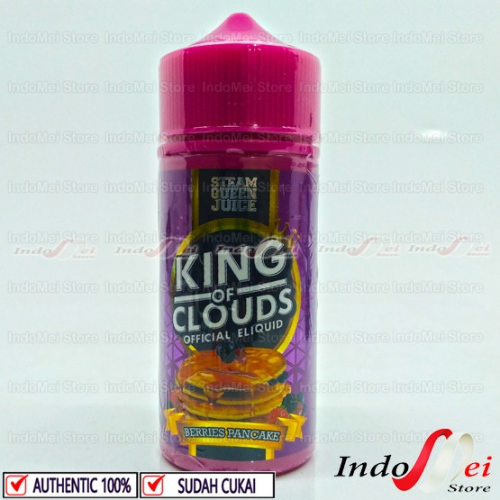 Foto Produk Liquid King Of Clouds 100ml by JVS x SteamQueen - 3mg dari Indomei Store