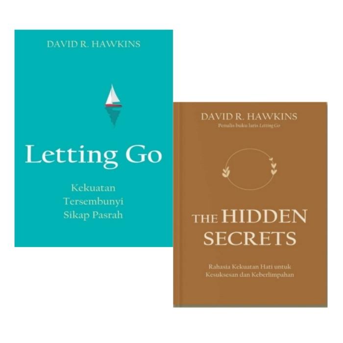 Foto Produk Buku Letting Go Dan The Hidden Secrets DAVID R HAWKINS dari Showroom Books