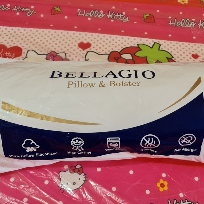 Foto Produk BANTAL TIDUR - BANTAL GULING - BANTAL 100% DACRON - BANTAL MURAH dari smarthomeid