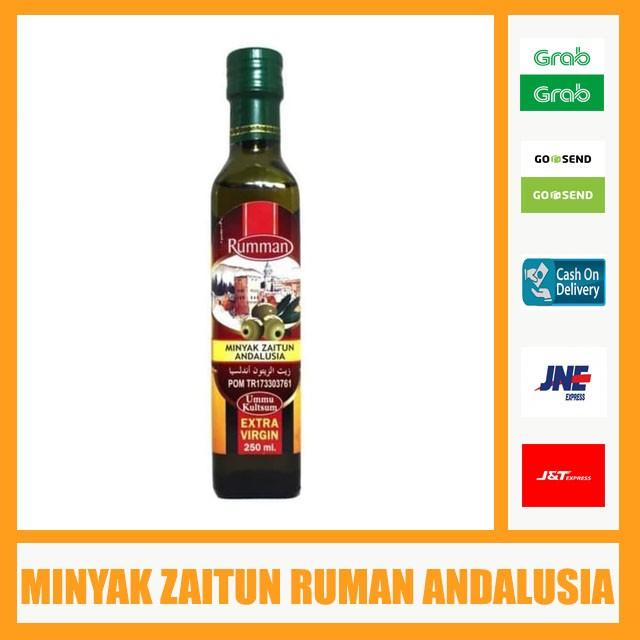 Foto Produk Minyak Zaitun Ruman Andalusia - 250 ML - Minyak Zaitun Extra Virgin dari Bandar Herbal Semarang