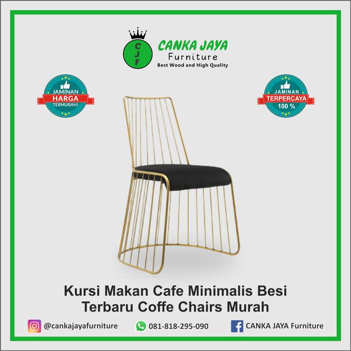 Jual Kursi Makan Cafe Minimalis Besi Terbaru Coffe Chairs Murah Besi Beton Kab Jepara Canka Jaya Furniture Tokopedia