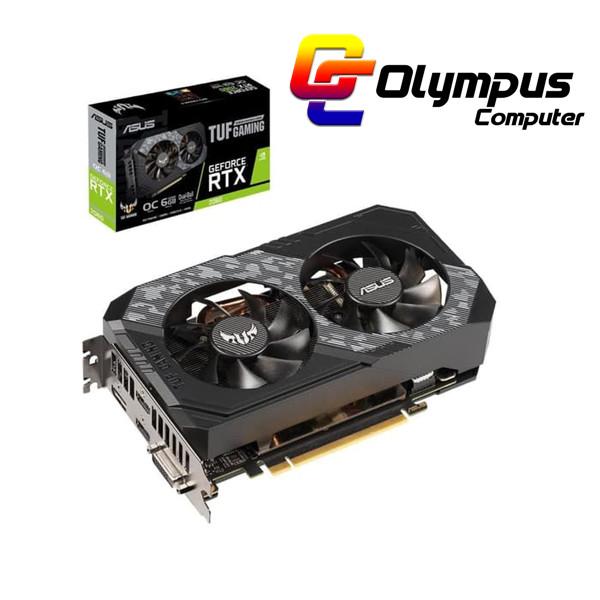 Foto Produk Baru VGA ASUS Nvidia GeForce RTX 2060 TUF Gaming Edition 6GB DDR6 OC dari OLYMPUS COMPUTER