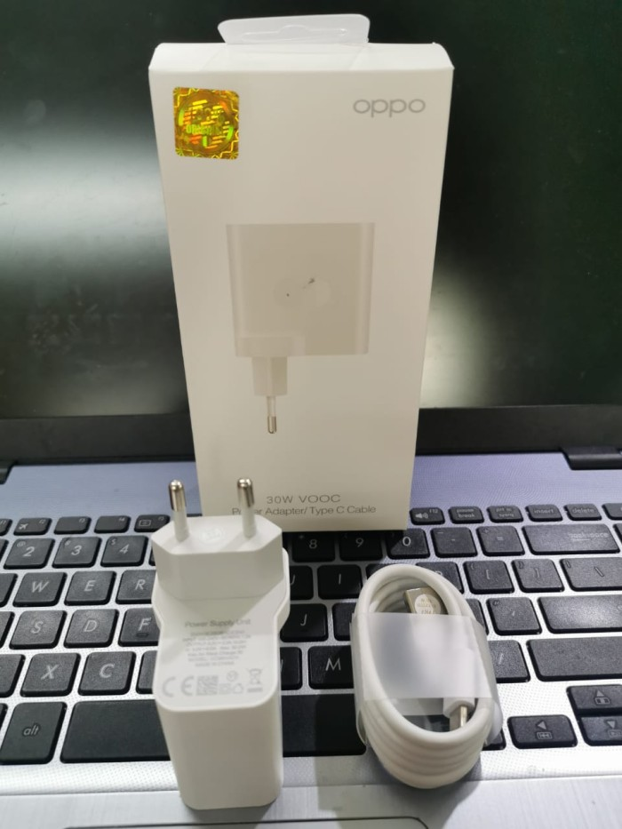 Foto Produk ORIGINAL CHARGER OPPO RENO 4 30W 6A USB TYPE C VOOC FLASH CHARGE dari Urban Story