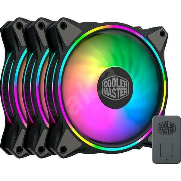 Foto Produk Fan Casing Cooler Master MasterFan MF120 Halo 3in1 - 12CM dari toko expert komputer