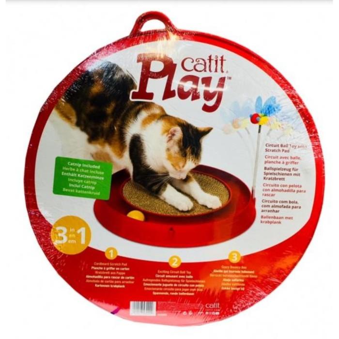 Jual Mainan Kucing Interaktif Dengan Garukan Kucing Catit Play Circuit Jakarta Barat Pitaloka Store1528 Tokopedia