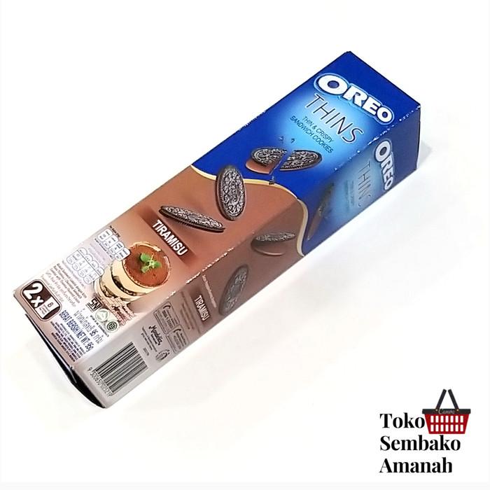 Foto Produk oreo thins tiramisu 95g dari Sembako Amanah20