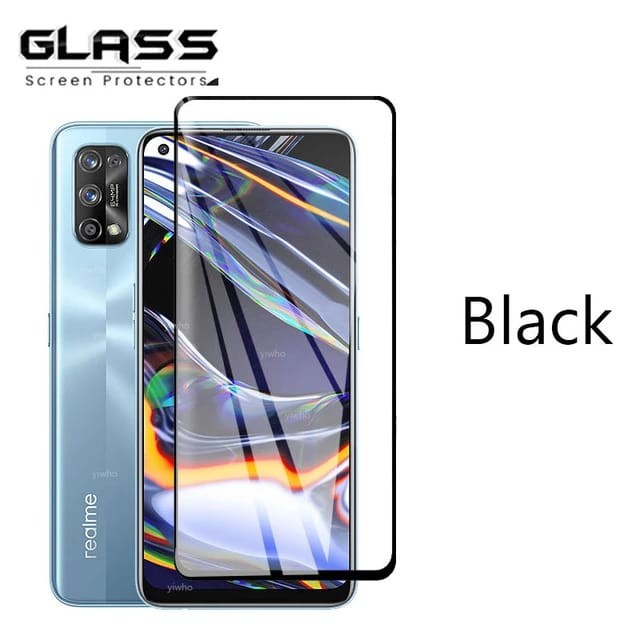 Foto Produk REALME 7 / 7i / 7 PRO TEMPERED GLASS 9D FULL COVER FULL SCREEN - Realme 7 dari factory acc