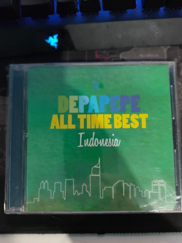 Foto Produk DEPAPEPE - ALL THE BEST TIME INDONESIA (ALBUM) BONUS PICK DEPAPEPE ORI dari Haru Japan