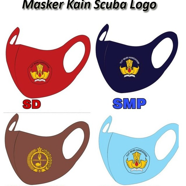 Jual Masker Scuba Logo Kab Sanggau Das Stores Tokopedia