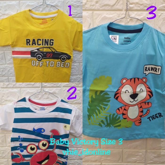 Foto Produk Baby Victory Kaos Anak Cowok/Laki-laki Size 3 dari vhie_idonline