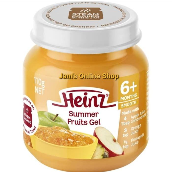 Jual Mpasi 6 Bulan Heinz Summer Fruits Gel Bubur Bayi Puree Buah Kota Bandung Jam S Online Shop Tokopedia
