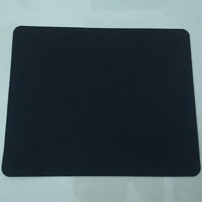 Foto Produk Mousepad Polos Hitam Untuk Kantor Atau Gaming Anti Slip dari good_price store 2